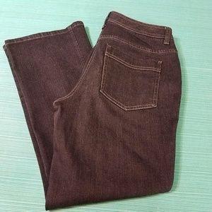 Chico's Platinum Black Jeans size 0.5 Short
